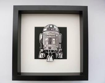 R2D2 3D Box Frame