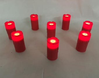 8 Flameless Votive Candles- Candle Impressions