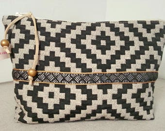 Kit makeup pouch cosmetic, toiletry bag, pouch, storage beauty products