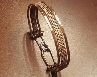 Electra Woven Wire Bracelet