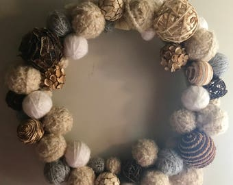 Autumn and Winter Wreath