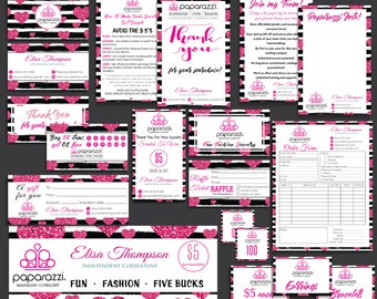 SALES!! Paparazzi Marketing Kit, Paparazzi Bundle, Paparazzi Business Cards, Paparazzi Marketing, Free Personalization, Printable file PP17