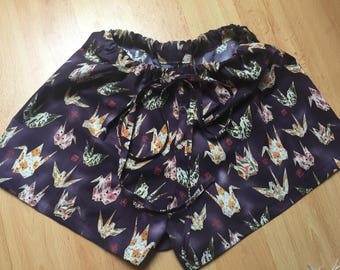 Handmade lounge shorts to fit 10-14