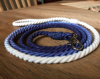 Ombre rope leash (large dogs)