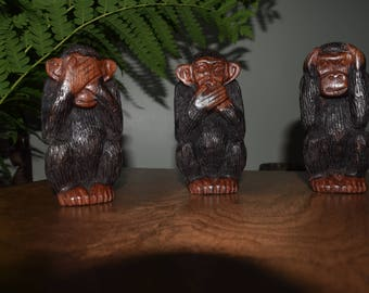 See, Hear and Speak no evil monkeys