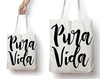 VIDA Tote Bag - CARIBBEAN MARKET by VIDA Ph8MZ