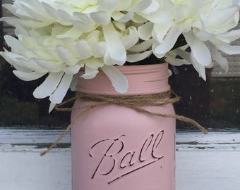 Mason jar decor,mason jar centerpiece,Mason jar accessories, Mason jar vase,wedding,rustic decor,home decor,Mason jars,painted Mason jars,