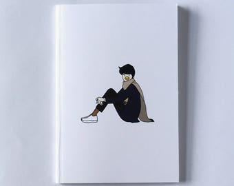 Lovely A6 notebook, Kotoridanshi stylish and unique design