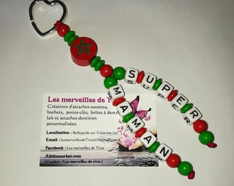 "Custom keychain ""Morocco"""