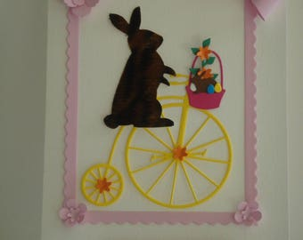 Kit card MOM rabbit ride with her Cub to make you even