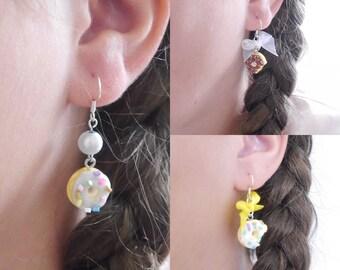 Delicious donut earrings