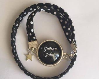 "Jewellery Bracelets Support & fabrics ""Custom"" charms"