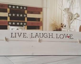 Live.Laugh.Love Photo Display