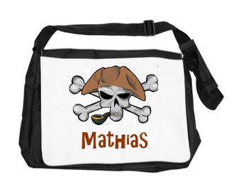 Personalized with name Pirate shoulder bag