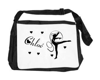 Gym bag personalised with name