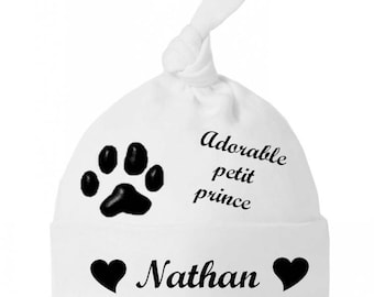 Beanie Baby bow baby Adorable prince personalized with name