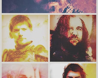 Game of Thrones poscard set- series 2