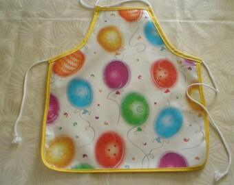 Kids oilcloth apron ' fiesta' 3-4 years