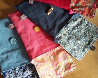 Liberty & linen shoulder bag