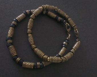 Bracelets very metal bronze
