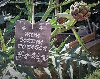 """My garden"" slate sign"