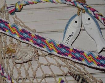 "multicolored ""quirky"" Friendship Bracelet"
