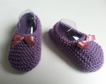 Small Lavender toes 0-3 months