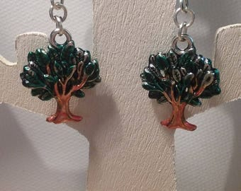 Earrings - tree of life