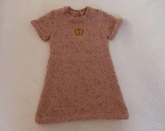 Dress 3 years wool and alpaca