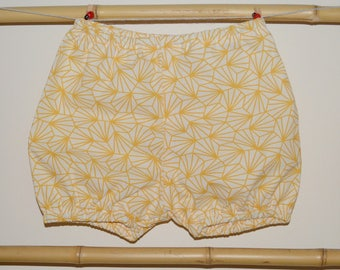 Bloomers baby 3 to the yellow geometric 24 months
