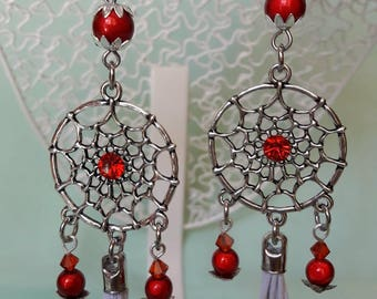 Flamboyant these red Dreamcatcher