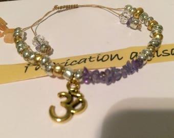 Tanzanite high quality handmade bracelet