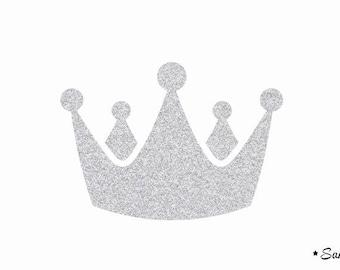 crown prince Royal applique silver flex fusible model 2
