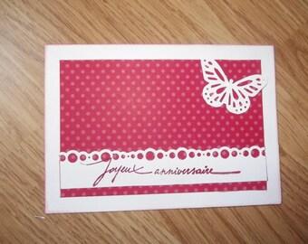 """Happy birthday"" card."