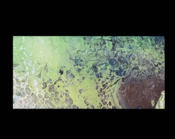 Green Planet - Abstract wall art for your home or office