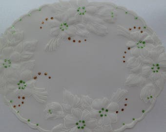 card any occasion in pergamano flower pattern