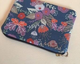 Tilda blue wallet