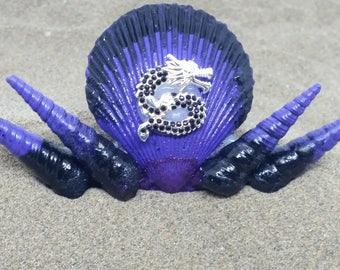 Customizable Sea Shell Mermaid Hairclip