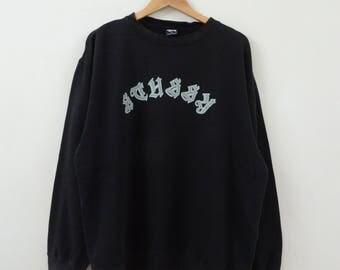 Vintage STUSSY spellout Sweatshirt