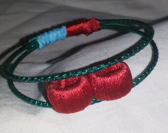 silk thread bracelet