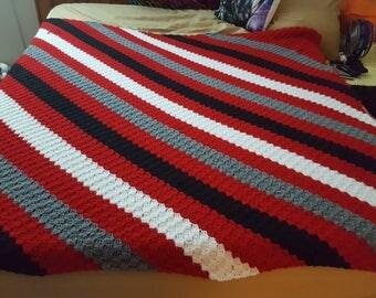 Louisville Cards Crochet Blanket