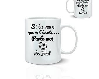 Alarm clock football - ceramic mug mug 325 ml