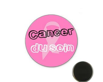 Breast cancer magnet size 32 mm