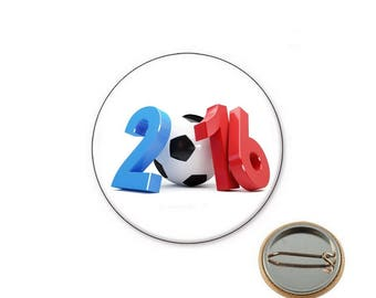 Euro 2016 Ø25mm pin badge