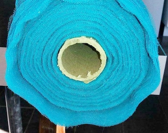 turquoise blue tulle width 150 cm