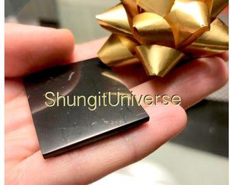 Shungite emf protecting tile plate,schungit energy stone,emf protection,chakra stone,Shungite,Shungite stone,stone crafting, Healing