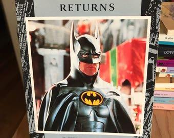 Batman Returns Movie Adaptation Movie Book Michael Keaton Tim Burton