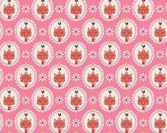 Patchwork cat pink vintage kitchen-Riley Blake fabric