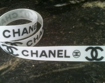 Chanel 22 mm grosgrain Ribbon sold by the yard
