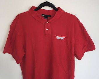90's Budweiser Polo Shirt